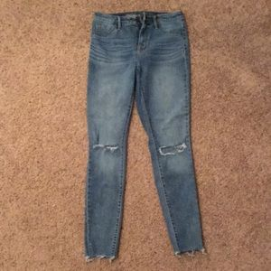 Women's high rise jegging